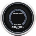Manomètre de calcul de mélange air/essence «SPORT COMP» diamètre 52mm