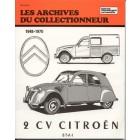 Archive du collectionneur CITROEN 2cv