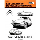 Archive du collectionneur DS19 56>65  ID19 57>67 tome 1