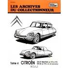 Archive du collectionneur CITROEN DS 21 inj. (70/72) - DS 23 (dep.73) tome 4